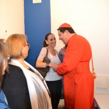 Il Cardinale saluta i Soci Fondatori