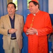 Il presidente illustra al Cardinale la nascita dell'Associazione